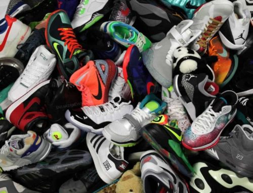Update – He Got Up Shoe Drive – 126 Pairs of Shoes Donated!